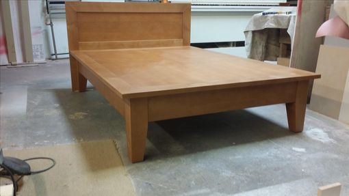 Custom Made Platform Bed