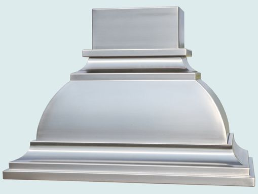 Custom Made Stainless Range Hood With Short Stack