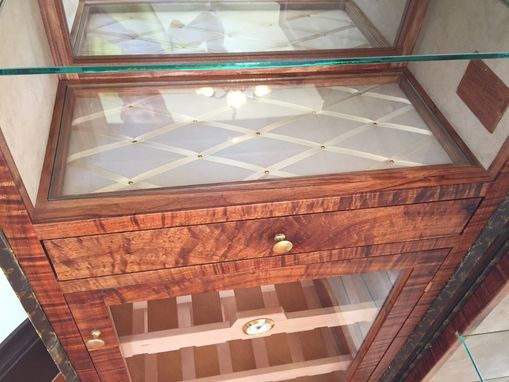 Custom Made Louis Vuitton  Humidor And Bar