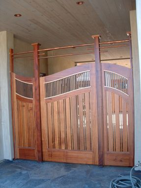 Custom Made Custom Entry And Gate