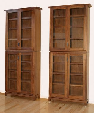 Custom Made Enclosed Bookcase
