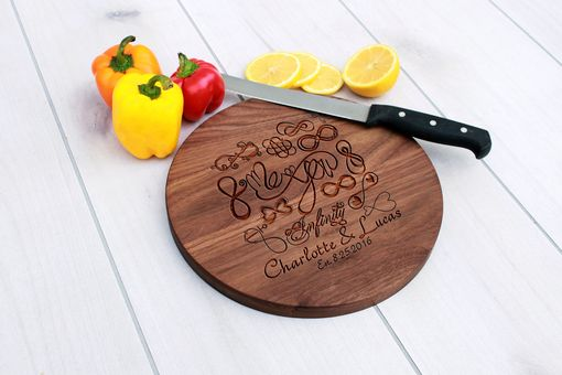Custom Made Personalized Cutting Board, Engraved Cutting Board, Wedding Gift – Cbr-Wal-Infinitycharlottelucas