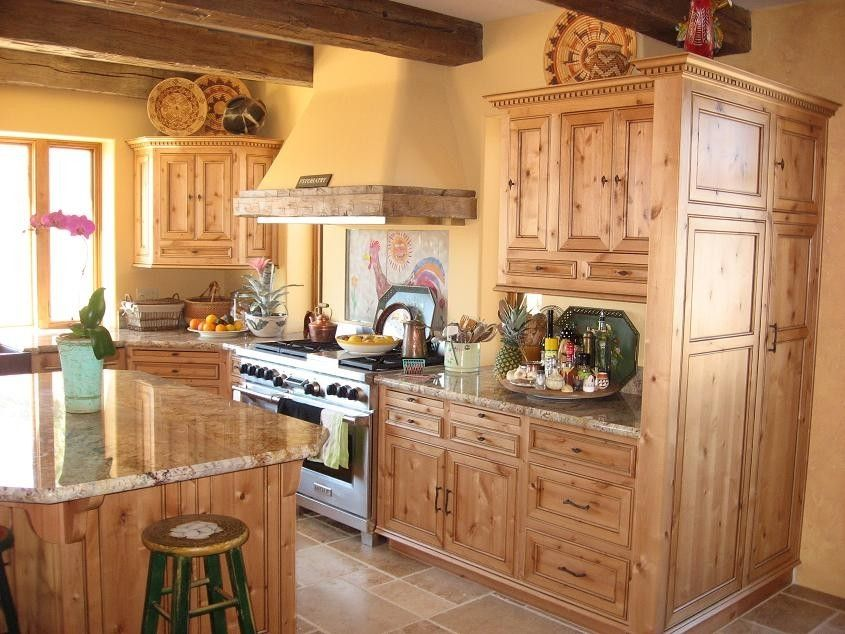 Custom Made Ragsdale Old World Kitchen Cabinets