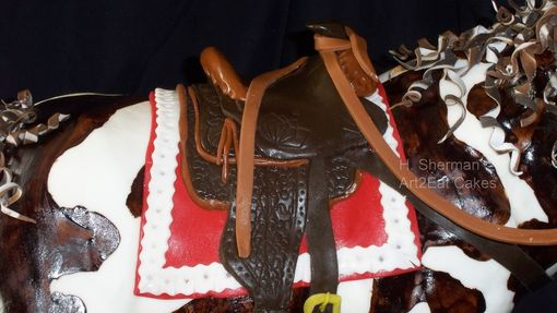 Custom Made Cowpony At The Chili Cookoff Cake Art