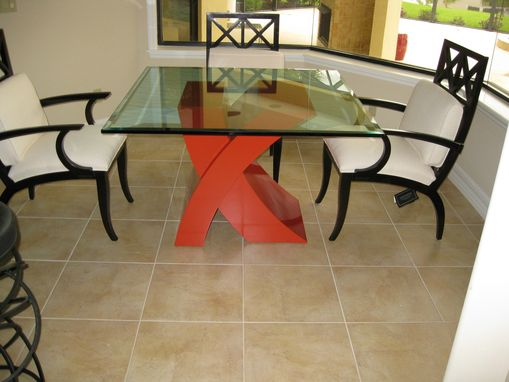 Custom Made Painted Table Base