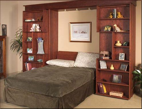 Custom Made Library Wall Bed
