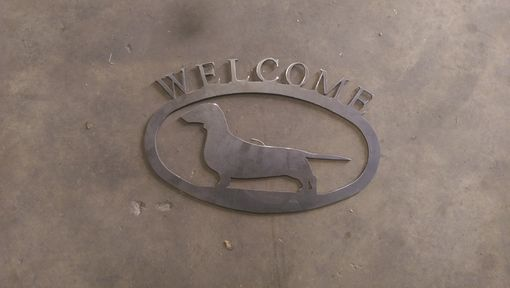 Custom Made Welcome Signs
