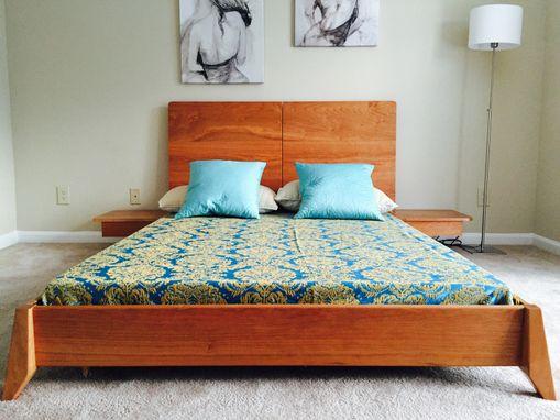 Solid Wood Platform Bed Full