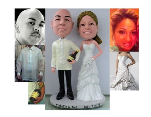 Custom Made Custom Cake Topper With Bottle