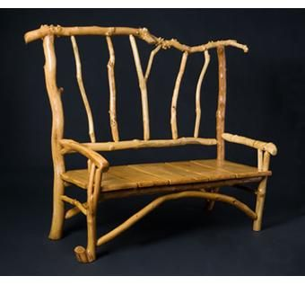 Custom Made Rustic Style Settee