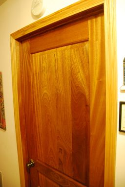 Custom Made Mahogany Doors