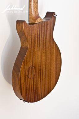 Custom Made Sapele Jr. Guitar