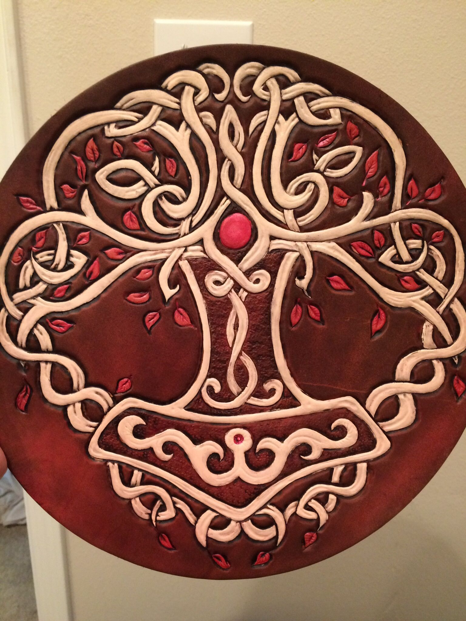 Buy A Hand Crafted Celtic Viking Norse Tree Of Life Trivet