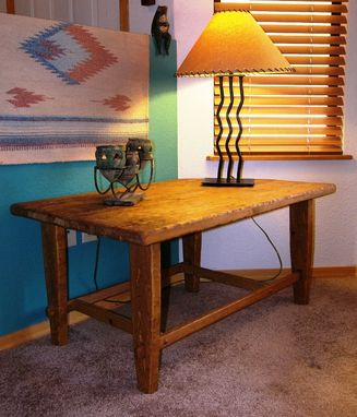 Custom Made Reclaimed Wood Rustic End Table By Rustic Furniture Hut