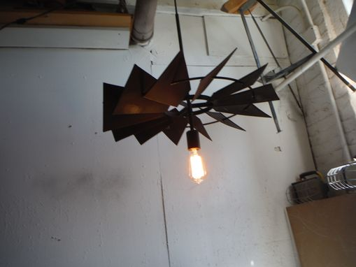 Custom Made Windmill Pendant Light