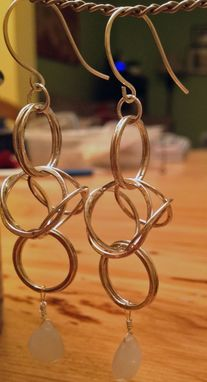 Custom Made Byzantine Chain Earrings