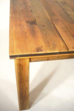 Custom Reclaimed Fir Farm Table By Bdagitz Furniture