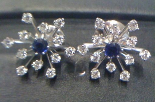 Custom Made Snowflake Earrings