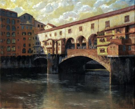 Custom Made Italian Landscape And Cityscape Paintings