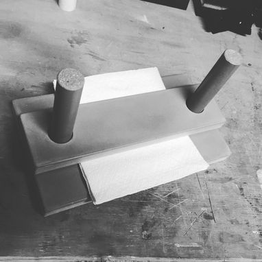 Custom Made Custom Concrete Napkin Holder