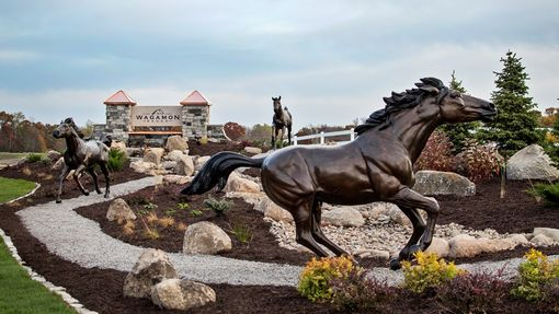 Custom Made Bronze Running Horse | Life Size Bronzes - Custom Bronze Statues & Sculptures - Lost Wax Casting