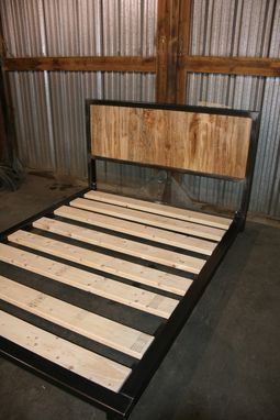 Custom Made The Parks...A Platform Bed