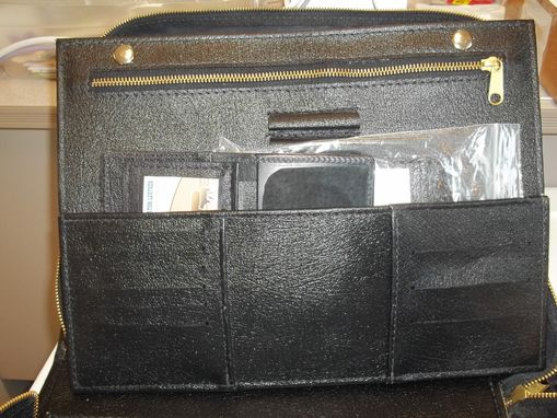 Custom Made Deluxe 'Black' Custom Crafted Law Enforcementbriefcase