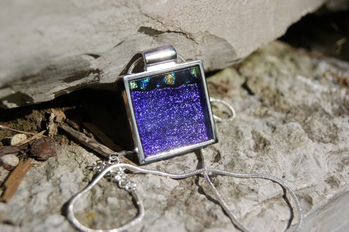 Custom Made Beautiful Purple Pendant
