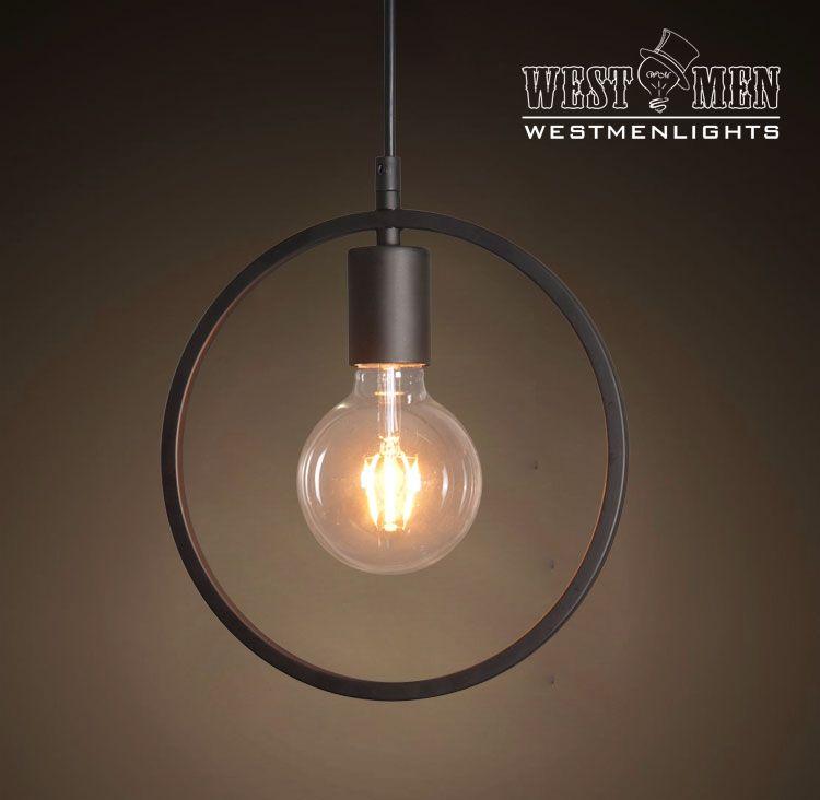 Buy A Custom Made Westmenlights Circle Shade Iron Pendant