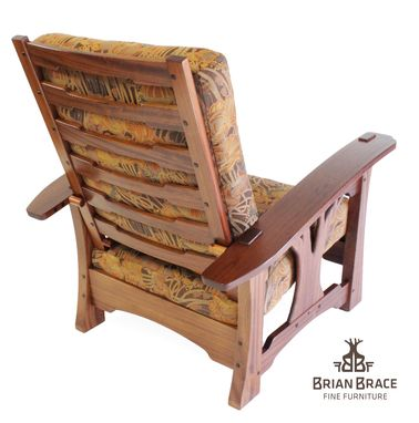 Custom Made Greene And Greene Arbor Morris Chair