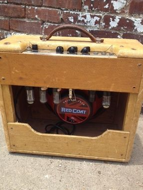Custom Made Guitar Amp On Sale Fender Deluxe Tv Front 1948 Tweed Guitar Amp