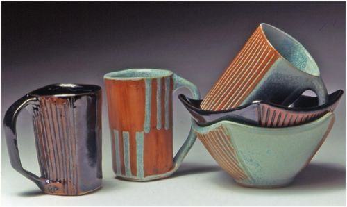 Custom Made Square Mugs And Bowls