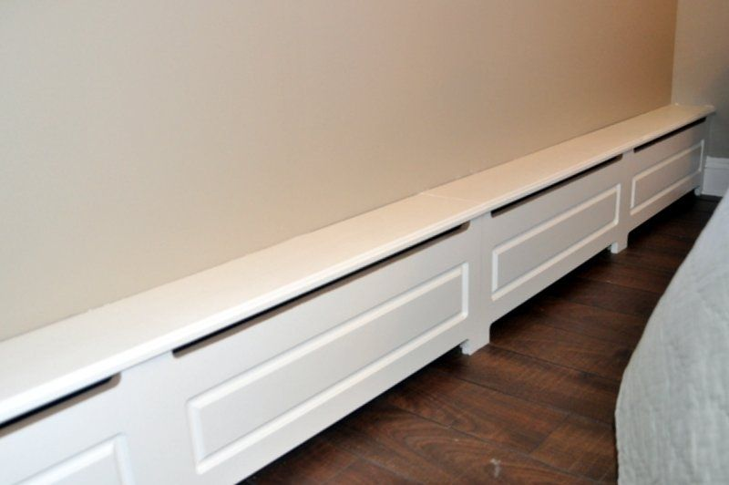 Hand Made Wood Baseboard Heater Cover By D Amp S Artistic