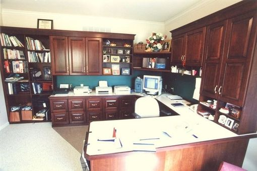 Custom Made Home Office For A Photographer