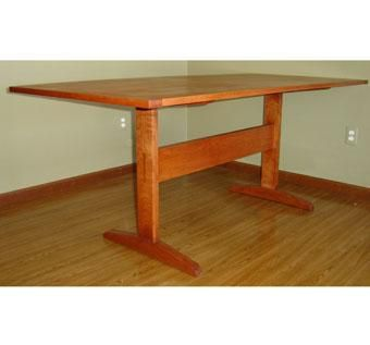 Custom Made Shaker Trestle Table