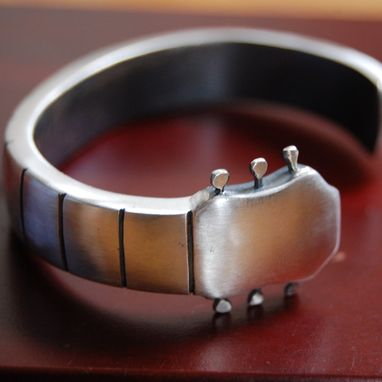 Custom Made Guitar Cuff Bracelet