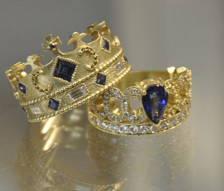 Custom Made King And Queen Bands