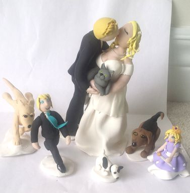 Custom Made Family Wedding Topper