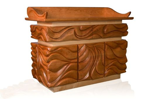 Custom Made Parting The Waves Podium-Bimah
