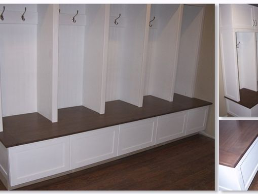 Custom Made Valerie Custom Mudroom Cabinetry & Lockers