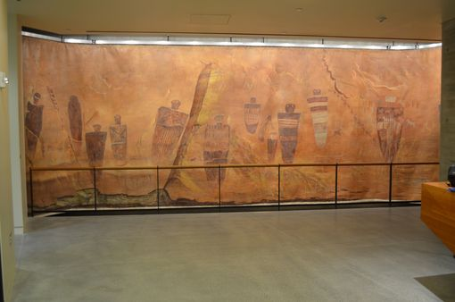 Custom Made Barrier Canyon Mural
