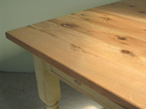 Hand Crafted Mobile Bur Oak Kitchen Island by Wood Shed ...