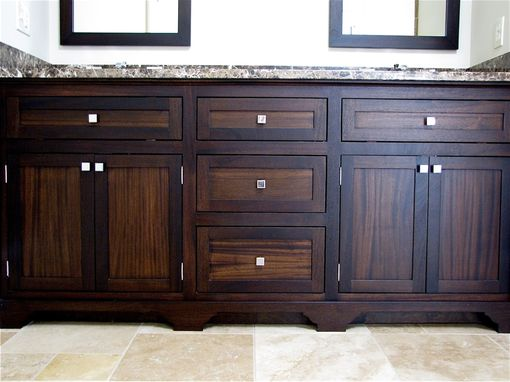 Custom Made Master Bathroom Vanity