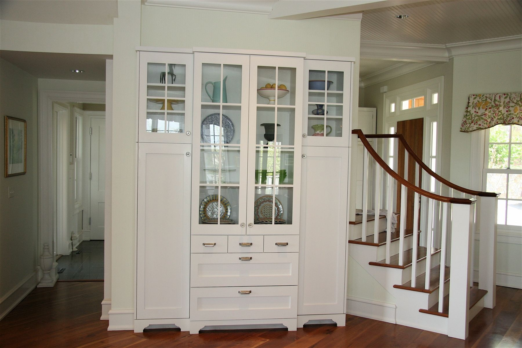 Handmade Custom China Cabinet by Precision Interiors, Inc. Premium ...