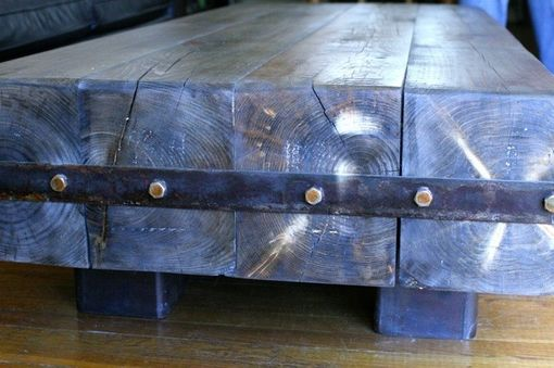 Custom Made Rustic Coffee Table / For Sale!