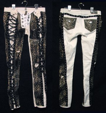 Hand Crafted Custom Pants Rock Metal Punk Stage Rockstar