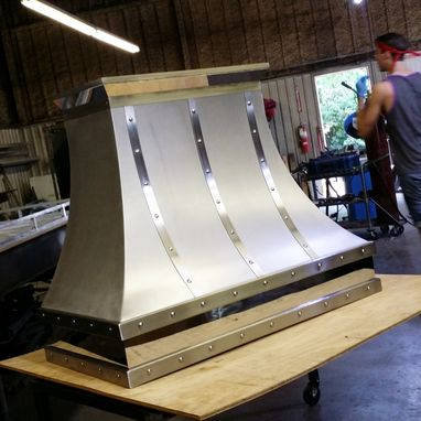 Custom Made The Hilary - Polished And Matte Stainless Steel Range Hood