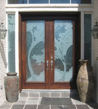 Custom Made Residential Front Entry Doors