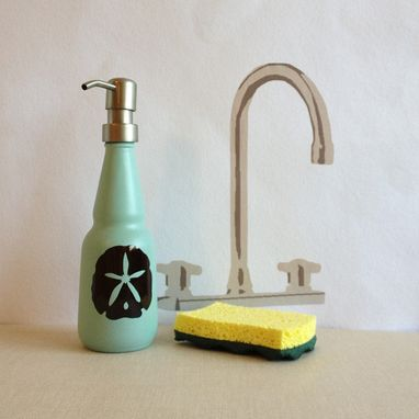 Custom Made Custom Beach Decor Soap Dispenser