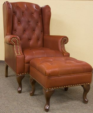 Custom Made Leather Chair